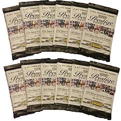 NFL Playoff Prestige 2009 12-pack Trading Cards