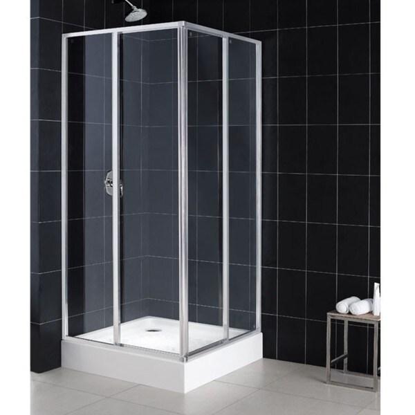 DreamLine Cornerview Shower Enclosure with Base