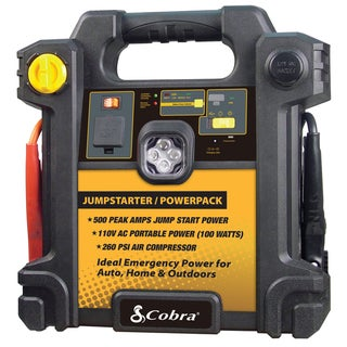 Cobra Jump Starter/PowerPack with Air Compressor