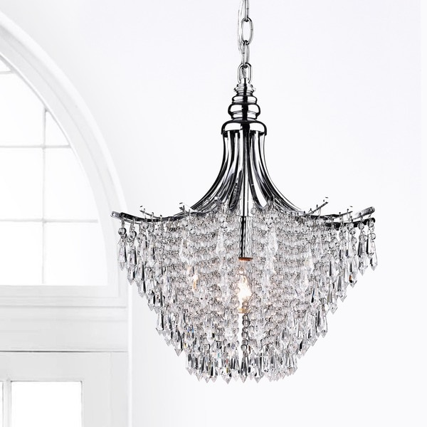 Crystal Chandelier Youtube: Silver Crystal Chandelier