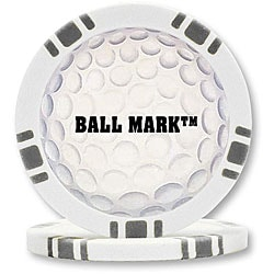 BallMark Poker Chip Golf Ball Markers (Set of 9)