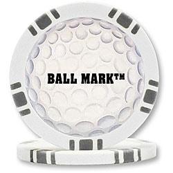 BallMark Poker Chip Golf Ball Markers (Set of 9)