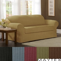 Maytex Collin 2-piece Sofa Slipcover