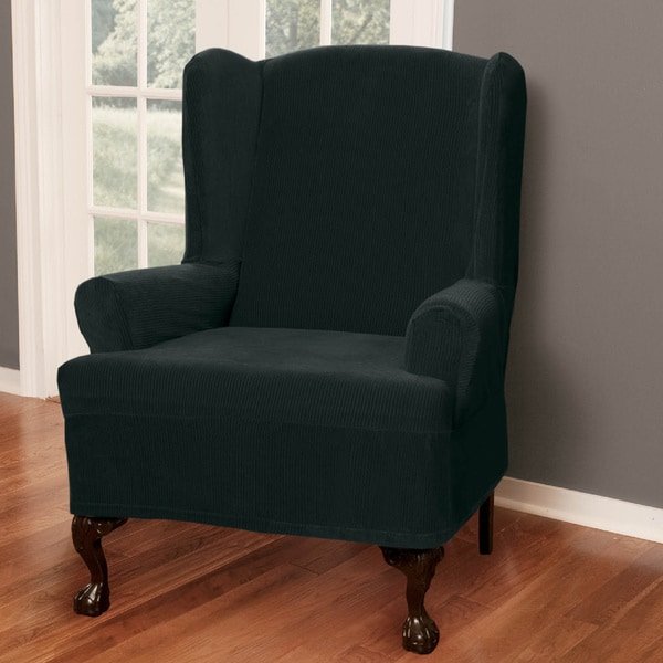 Maytex Collin Wing Chair Slipcover Overstock