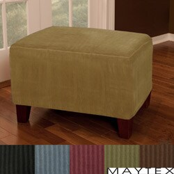 Maytex Collin Ottoman Cover