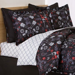 Rock Anthem 3-piece Comforter Set