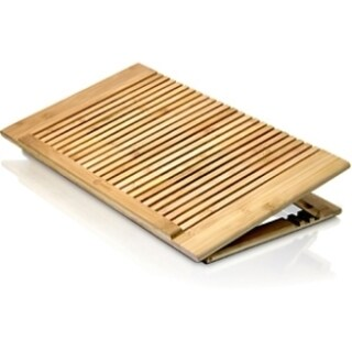 Macally Bamboo Adjustable Cool Stand