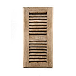 Image Flooring 4 x 10 White Oak Wood Air Vents