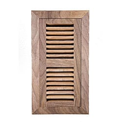 Image Flooring 4x12-inch Unfinished American Walnut Wood Vent