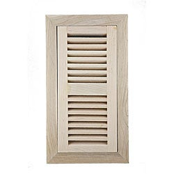 Image Flooring 4x12-inch Maple Wood Vents