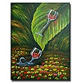 'Jungle Slide' Canvas Art