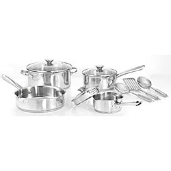 WearEver A834SA65 Stainless Steel 10-piece Cookware Set
