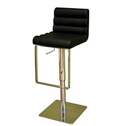 Chic Modern Bonded-leather Barstool