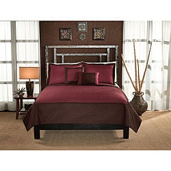 Barclay Hotel Chocolate and Brick 3-piece Quilt Set