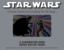 Star Wars: 11 Iconic Scenes from a Galaxy Far, Far Away... (Hardcover)