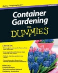 Container Gardening for Dummies (Paperback)