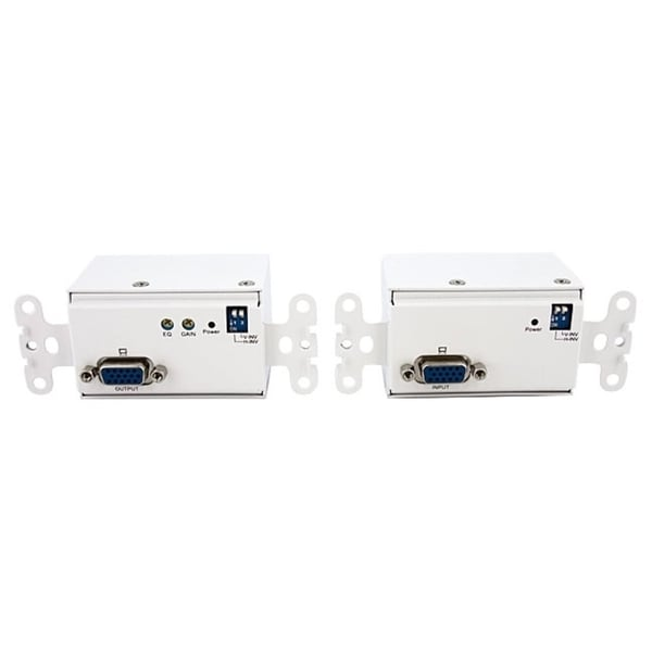StarTech.com VGA Wall Plate Video Extender Transmitter and Receiver o