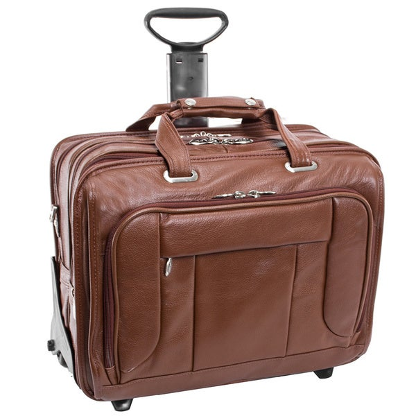 McKlein West Town Checkpoint-friendly Wheeled Laptop Case