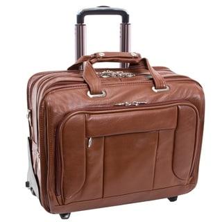 McKlein West Town Checkpoint-friendly Wheeled Laptop Case