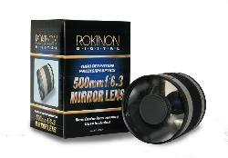 Rokinon 500mm F6.3 Mirror Lens for Olympus