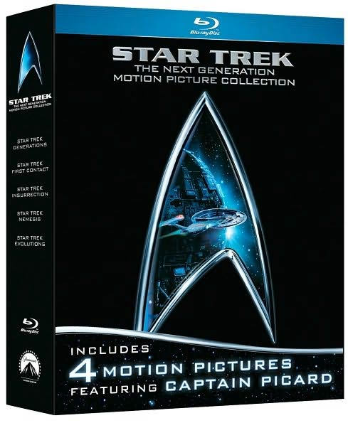 Star Trek: Next Generation Motion Picture Collection (Blu-ray Disc)