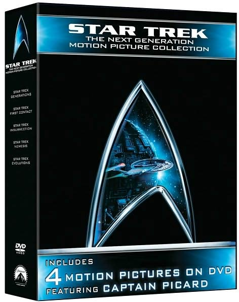 Star Trek: Next Generation Motion Picture Collection (DVD)