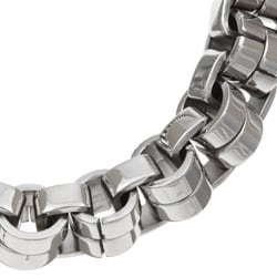 Stainless Steel Men's Venetian Link Necklace