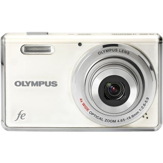 Olympus FE-4000 12 Megapixel Compact Camera - White