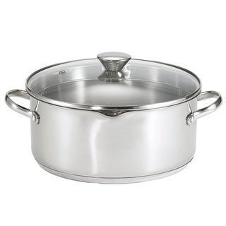 Stainless Steel Covered Dutch Oven