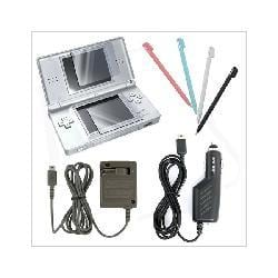 Charger Stylus Screen Protector Combo for Nintendo DS Lite