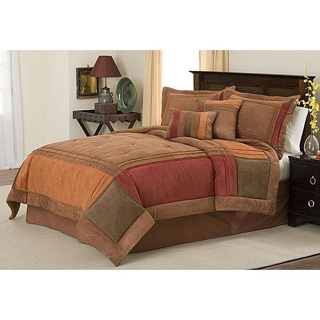 Handcrafted Birchwood 8-piece Comforter Set
