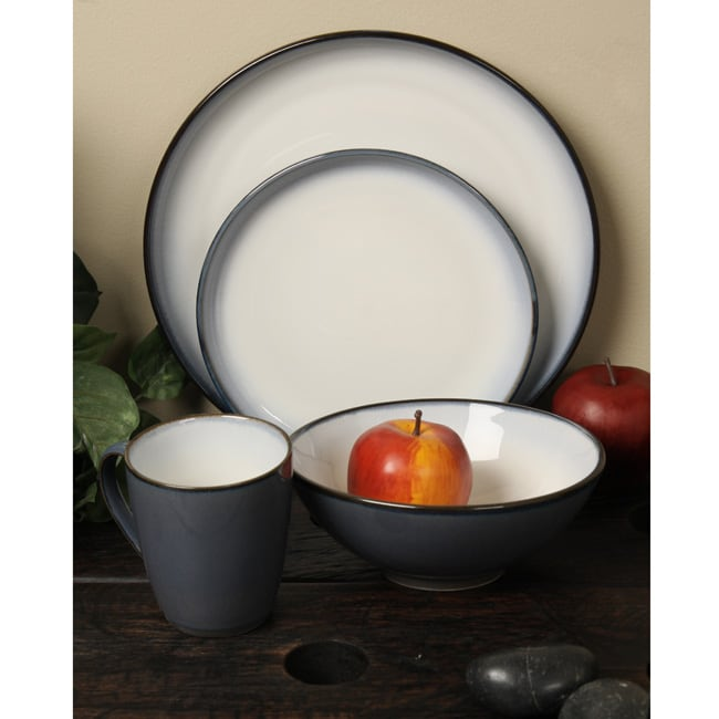 Sango 'Concepts' Eggplant 16-piece Dinnerware Set