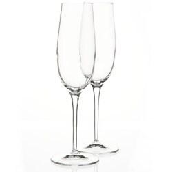 Luigi Bormioli SON.hyx 8.25-oz Champagne Flutes (Set of 6)