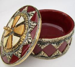Ceramic Trinket Box (Morocco)