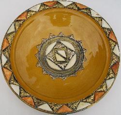 Kasbah Collector's Plate (Morocco)
