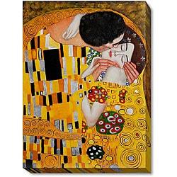 Klimt 'The Kiss' Canvas Art