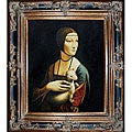 Da Vinci 'Lady with an Ermine' Canvas Art