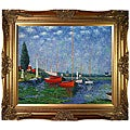 Monet 'Argenteuil' Canvas Art