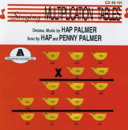 HAP PALMER - SINGING MULTIPLICATION TABLES