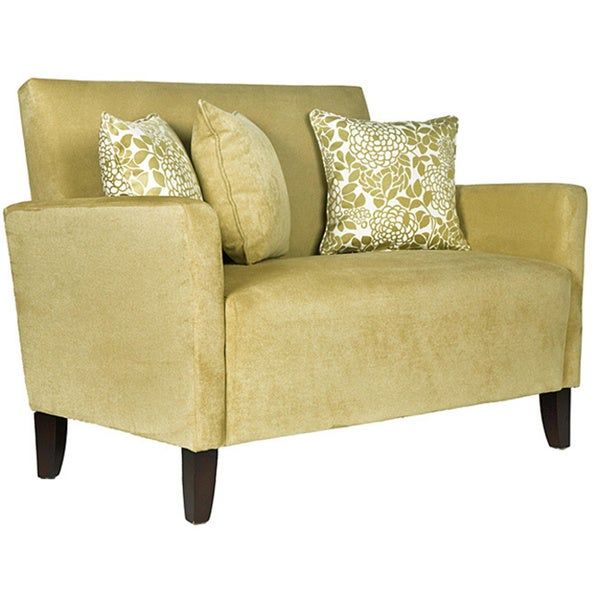 Angelo Home Sutton Lotus Green Loveseat 12155793 Shopping Great Deals On