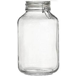 Bormioli Rocco Italian Fido 4-liter Canning Jars (Pack of 6)
