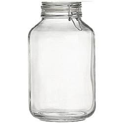 Bormioli Rocco Italian Fido 4-liter Canning Jars (Pack of 3)