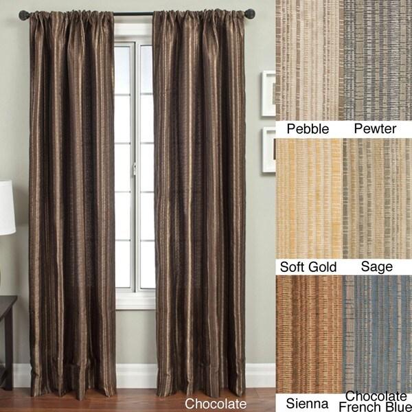 Jaipur Batik Rod Pocket 84-inch Curtain Panel