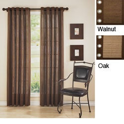 Bamboo 84-inch Grommet Top Curtain Panel