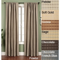 Jaipur Circle Rod Pocket 96-inch Curtain Panel