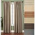 Softline Jaipur Circle Rod Pocket 96-inch Curtain Panel - 53 x 96
