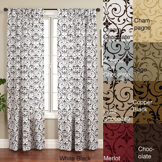 Seville Rod Pocket 108-inch Curtain Panel