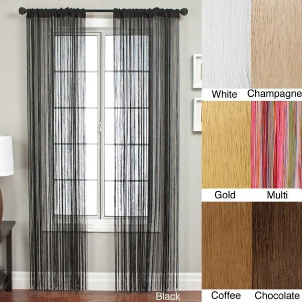 Lyon Rod Pocket 96-inch Curtain Panel