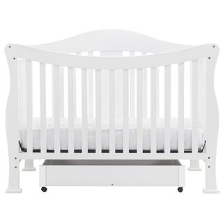 DaVinci Parker 4-in-1 Crib with Toddler Rail in Coffee