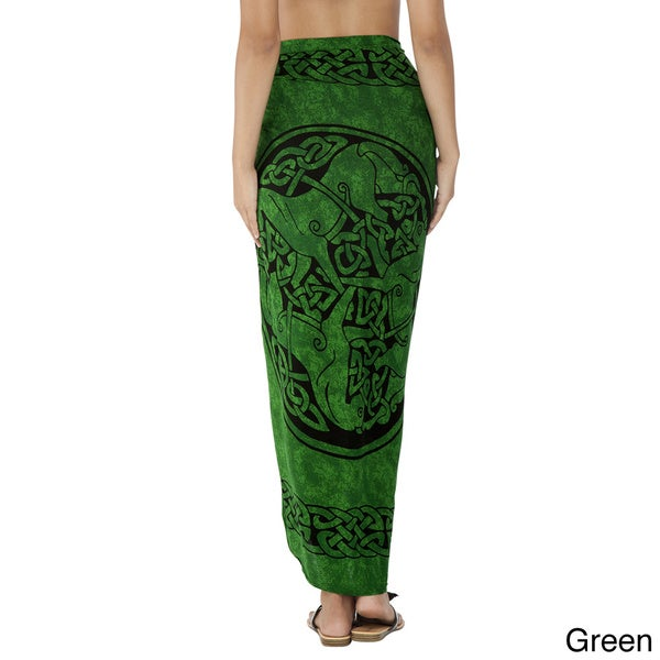Celtic Horses Sarong (Indonesia)